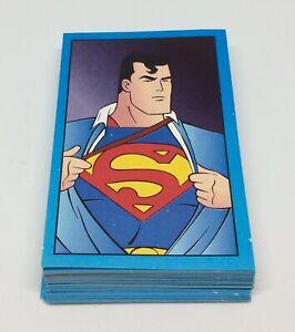 1996 Panini Superman Complete Set 66 stickers