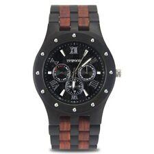 Wooden Watch Men Watches 2017 Luxury Sport Quartz-Watch Date Hour Wristwatch