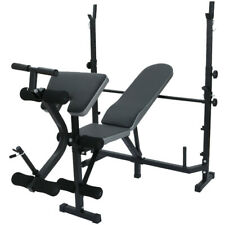 Pro Form Sport Olympic Rack Bench Pro Form Weight Lifting Home Gym Adjustable