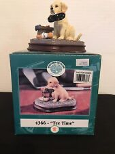 Tee Time Sportsman Lab Puppy Figurine