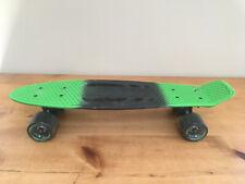 Halo Rise Above Rubber Grip Premium Retro Skateboard Green and Black