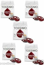 TASSIMO Costa Americano Coffee 16 T DISCs Pods Pack of 5, Total 80 Drinks NEW