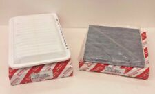 LEXUS OEM FACTORY CHARCOAL CABIN FILTER AND AIR FILTER SET 2004-2009 RX330 RX350