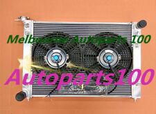 52mm 2 ROW ALLOY RADIATOR&Fans HOLDEN COMMODORE VN VG VP VR VS V6 3.8L AT/MT