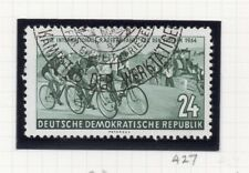 East Germany Cycling 1954 Early Issue Fine Used 24pf. 222097
