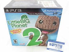 Little big planet 2 collector's edition ps3 new usa new