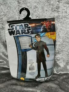 B2 Childs Anakin Skywalker Star Wars costume fancy dress cosplay Large 8-10 yrs