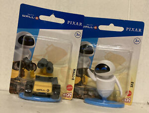 Wall-E And Eve 2 inch figure, Micro Collection by Mattel Disney Pixar 2020