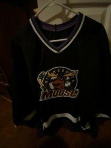 Minnesota Moose Vintage Bauer Jersey XL USPHL