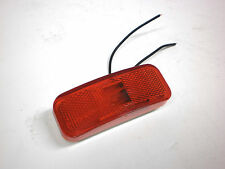 """1.5"""" x 4"""" Red Clearance Marker Side Light Optronics RV Trailer Truck Camper"""