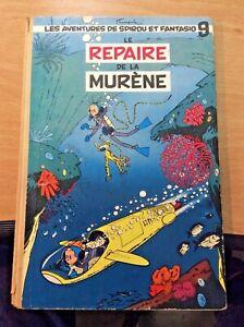 Spirou et Fantasio le repère de la murène EO TBE Franquin 192B0