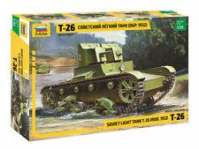 T-26 MOD.1932 - WW II SOVIET LIGHT TANK #3542 1/35 ZVEZDA