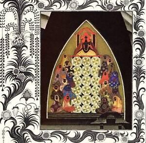 1977 Vintage Kay Nielsen Art Deco Nouveau Colour Print Picture