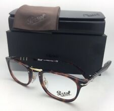 New Typewriter Edition PERSOL Eyeglasses 3126-V 24 48-22 145 Tortoise Gold Frame