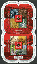 Belgium 2018 MNH WWI WW1 Flanders Fields First World War 2v M/S Military Stamps