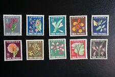 (T2) PORTUGAL PORTUGUESE TIMOR 1950 LOCAL FLOWERS FULL SET