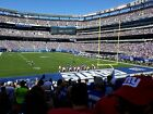 New York Giants vs Los Angeles Rams 2 Lower Level Seats on the aisle + Parking