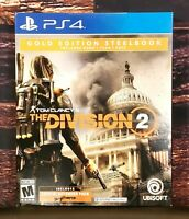 Tom Clancy's The Division 2 Gold Edition Steelbook - PS4 - Sony PlayStation 4