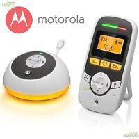 Motorola MBP161 Wireless Portable Digital Audio Baby Nursery Monitor Night Light