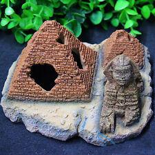 Ancient Egyptian Pyramids Sphinx Fish Tank Decoration Hiding Place Playground