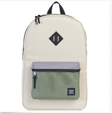 NWT Herschel Supply Co. Heritage ASPECT Backpack Campus 21.5L Green Pelican