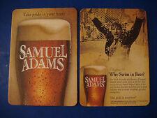 """Coaster ~*~ SAMUEL ADAMS Chapter 8 """"Why Swim in Beer?"""" Jim Koch ~*~ Take Pride"""