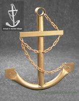 Large Ship's Anchor Wall Garden Yard Art Decor 5.7'  Metal Nautical Decorative