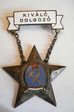 Hungary Hungarian Medal Perfect Worker Rakosi Steel C