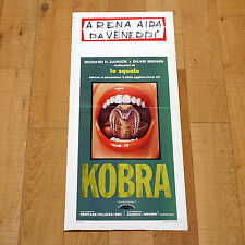 KOBRA locandina poster 1973 Bernard L. Kowalski Benedict Shull SSSSSSS AH68
