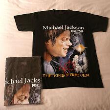 T shirt avec Michael Jackson photo de très bonne qualité 100% coton en noir