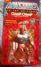VINTAGE 1986 HE-MAN Masters of the Universe MOTU CLAMP CHAMP MOC Unpunched
