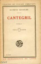 CANTEGRIL / ESCHOLIER / Renaissance du Livre