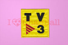 Barcelona TV3 2004-2005 Sleeve Soccer Embroidery Patch / Badge