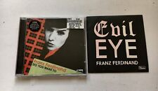 FRANZ FERDINAND - EVIL EYE PROMO CD + DO YOU WANT TO CD SINGLE