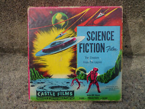 """8mm Movie """"Creature From the Lagoon"""", Castle Films, Complete Ed. Science Fiction"""