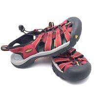 Keen Women's Sport Sandal Shoes Red Size 7.5