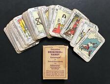 Vintage Deutsches Original Tarot Cards