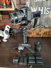 Canon EOS 70D + ronin sc and lenses