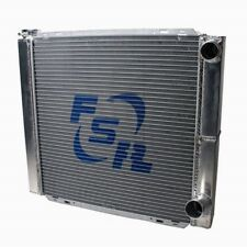 FSR Racing 2619D2 26x19 GM Chevy Aluminum Radiator 2 Row Double Pass