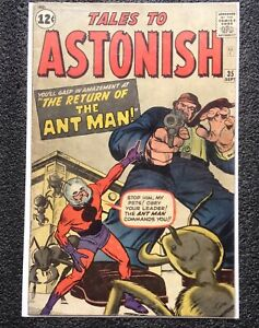 Tales to Astonish #35 - 2nd ANT MAN - MARVEL comics VO USA SILVER AGE 1962