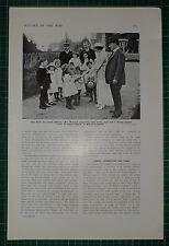 1916 WWI WW1 PRINT ~ WAR THRIFT FOR SCHOOL CHILDREN McKENNA BANK BOOKS