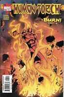 Human Torch Comic Issue 6 Modern Age First Print 2003 Karl Kesel Young Seung