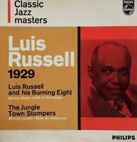 """Luis Russell-Classic Jazz Masters 1929 Vinyl 7"""" EP Single.Philips 436 004 A JE."""