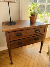 More details for early century chest of drawers /side table