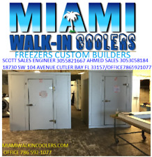 8X16X8 Cold Room No Floor Custom Built W Refregeratiom &System Controlls $8495