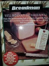 Breadman Deluxe Rapid Bread Making Machine Tr555Lc Brand New