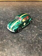 Vintage 1970s Volkswagen (VW) Beetle Bug - MARX made in Hong Kong - Green colour