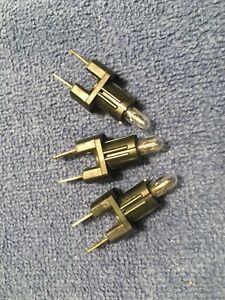 1983 to 1994 Classic Saab 900 Heater Control Dash Light Bulb in Socket Set