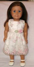 2009 AMERICAN GIRL DOLL OF THE YEAR CHRISSA RETIRED W/ PARTY DRESS