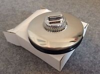 Steel Barnacle Desmo Style Suction Car Tax Disc Holder - Vintage / Classic Car